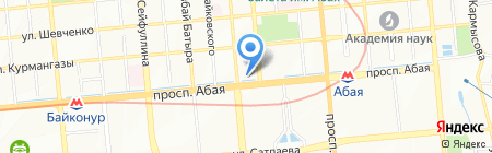 Мир книг на карте Алматы