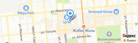 Cotton на карте Алматы