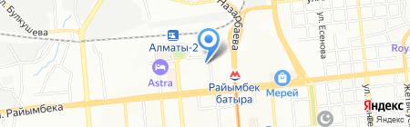 WTS Express на карте Алматы