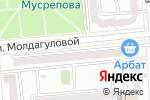 Схема проезда до компании Бахчешехир в Алматы