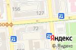 Схема проезда до компании Neoshop в Алматы