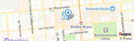 Этна-Тур на карте Алматы