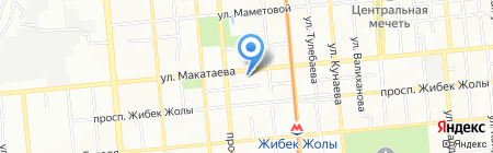 Казахстанская правда на карте Алматы