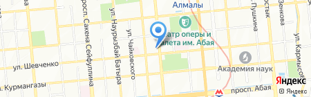 Триумф на карте Алматы