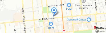 Салон мобильных телефонов и аксессуаров на карте Алматы