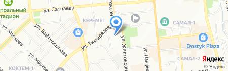 Дала на карте Алматы