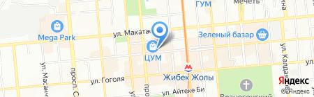 A-tell на карте Алматы