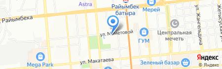 Verny Delivery Trans на карте Алматы