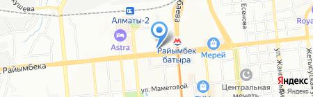 LED ALMATY на карте Алматы