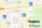 Схема проезда до компании Алма Ата в Алматы