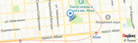 Нотариус Сейдалиев Б.М. на карте Алматы