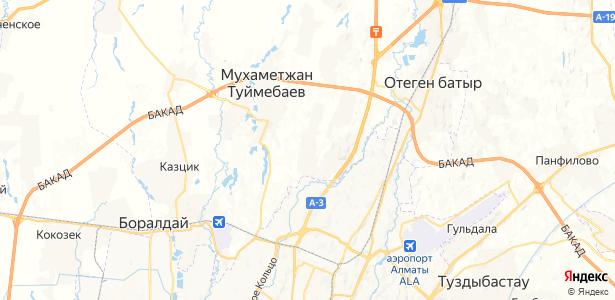 Коянкус на карте
