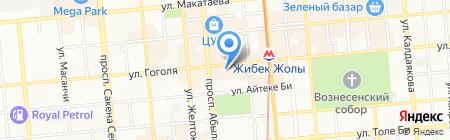 Центр спортивного питания на карте Алматы