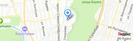 Ремонтно-сервисная фирма на карте Алматы
