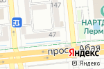 Схема проезда до компании Евроаптека в Алматы