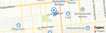 Служба спасения г. Алматы на карте Алматы