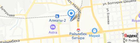 ABT & E-Trans Forwarding Company на карте Алматы