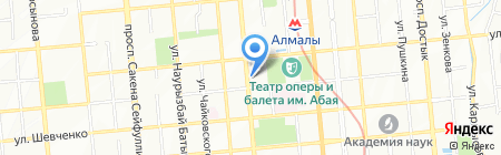 Энергосистема на карте Алматы