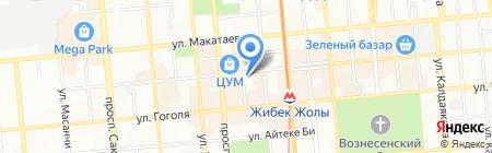 Tirol на карте Алматы