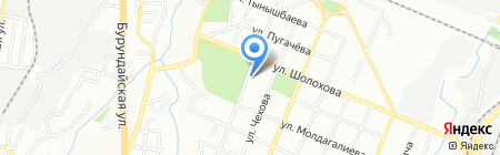 Алпамыс на карте Алматы