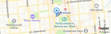 ЛеКос на карте Алматы