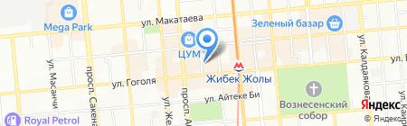 Янтарная лавка на карте Алматы