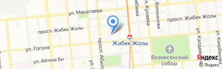 Arabesque на карте Алматы