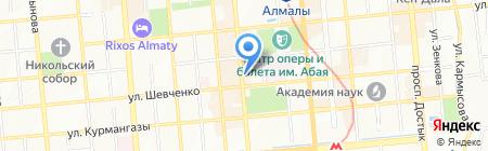 Class на карте Алматы