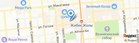 Golden Moon на карте Алматы