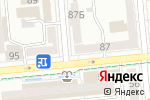Схема проезда до компании Loft ТЕЛЕФОН в Алматы
