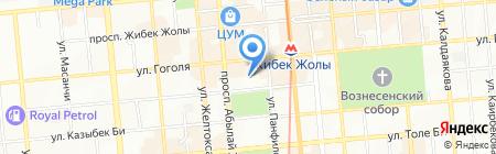 Ассоциация финансистов Казахстана на карте Алматы