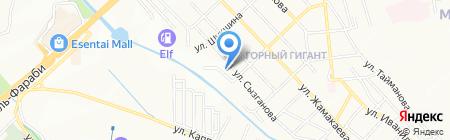 KAZ INTER Vector Group на карте Алматы