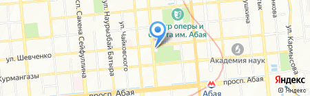 Navigator на карте Алматы