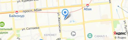 Эбикус Electronics на карте Алматы
