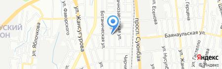 Дезинфекционная компания на карте Алматы