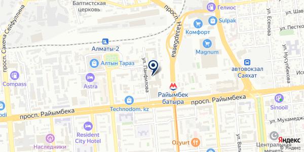 ALP Курылыс на карте Алматы