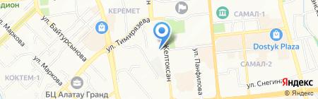 Прокуратура Бостандыкского района г. Алматы на карте Алматы