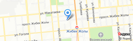 Alma Food на карте Алматы