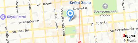 КБТУ на карте Алматы