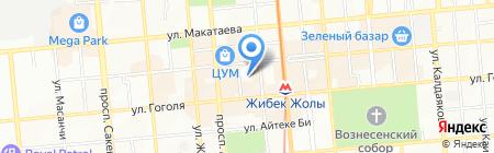 Камкор на карте Алматы