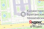 Схема проезда до компании Казахстанско-Британский технический университет в Алматы