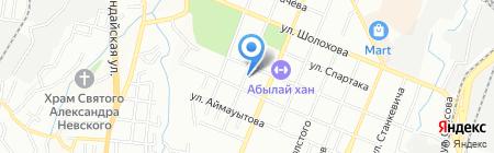 Почтовое отделение связи №11 на карте Алматы