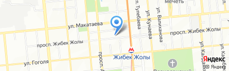 Extyn на карте Алматы