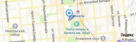 Салым Ломбард ТОО на карте Алматы