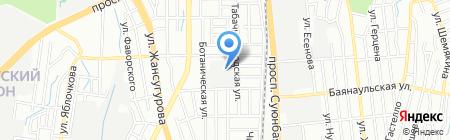Филип Моррис Казахстан на карте Алматы