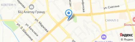 Deloitte на карте Алматы