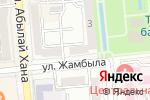 Схема проезда до компании Цесна Гарант в Алматы