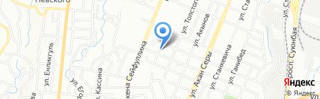 Теремочек на карте Алматы