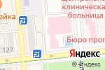 Схема проезда до компании Prestige в Алматы