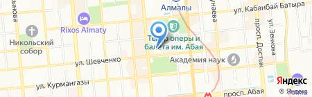 Банкомат Сбербанк на карте Алматы